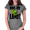 Enger Land Monkey Womens Fitted T-Shirt