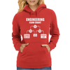 Engineering Flow Chart Womens Hoodie