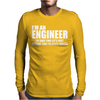 Engineers Are Never Wrong Mens Long Sleeve T-Shirt