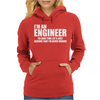 Engineers Are Never Wrong Womens Hoodie