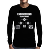 Engineers Flow Chart duct tape Mens Long Sleeve T-Shirt
