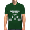 Engineers Flow Chart duct tape Mens Polo