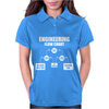 Engineers Flow Chart duct tape Womens Polo