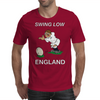 England Kicker Rugby World Cup Mens T-Shirt
