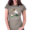 England Kicker Rugby World Cup Womens Fitted T-Shirt