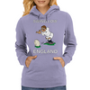 England Kicker Rugby World Cup Womens Hoodie