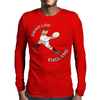 England Rugby Back World Cup Mens Long Sleeve T-Shirt