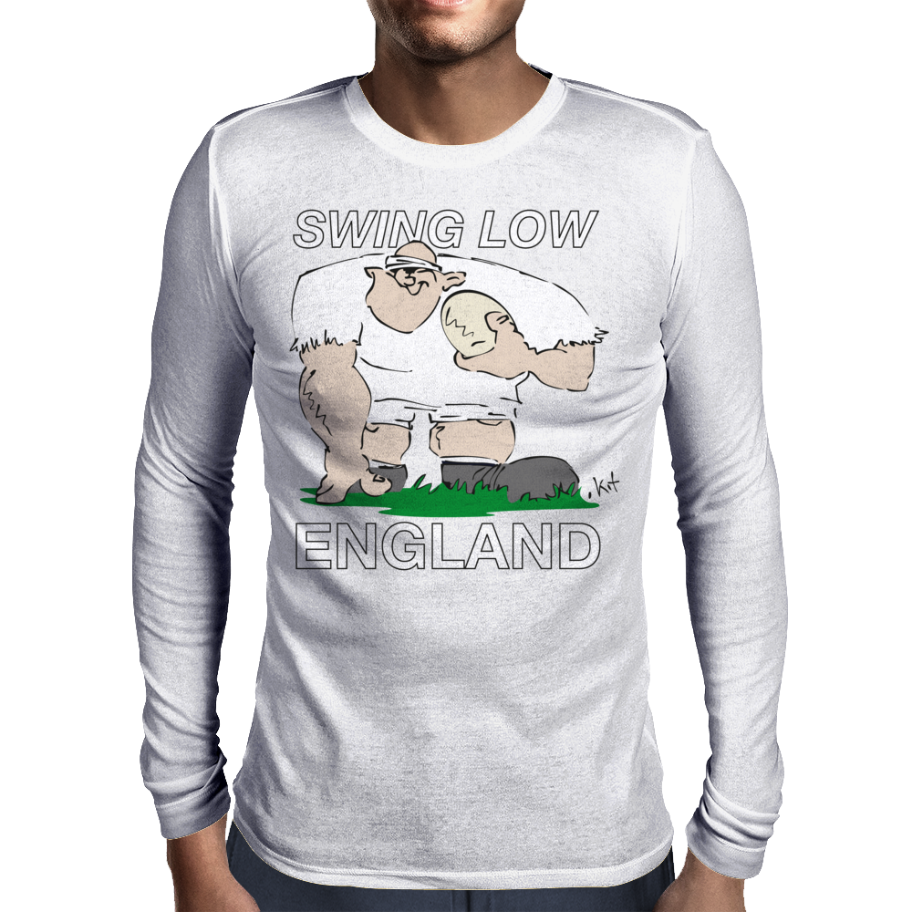 England Rugby Forward World Cup Mens Long Sleeve T-Shirt