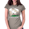 England Rugby Forward World Cup Womens Fitted T-Shirt