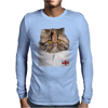 England Rugby Tee Mens Long Sleeve T-Shirt