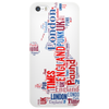 England Word Cloud Phone Case