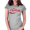 ENJOY CHRISTMAS Womens Fitted T-Shirt