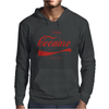 ENJOY COCAINE FUNNY GRAY Mens Hoodie