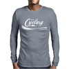 Enjoy Cycling Bike Mens Long Sleeve T-Shirt