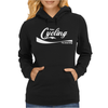 Enjoy Cycling Bike Womens Hoodie