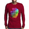 Equality, Freedom, Justice, Bernie Sanders - Political Mens Long Sleeve T-Shirt