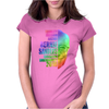 Equality, Freedom, Justice, Bernie Sanders - Political Womens Fitted T-Shirt