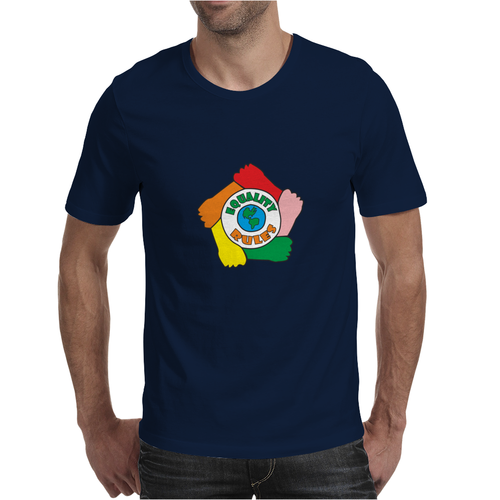 Equality Rules Mens T-Shirt