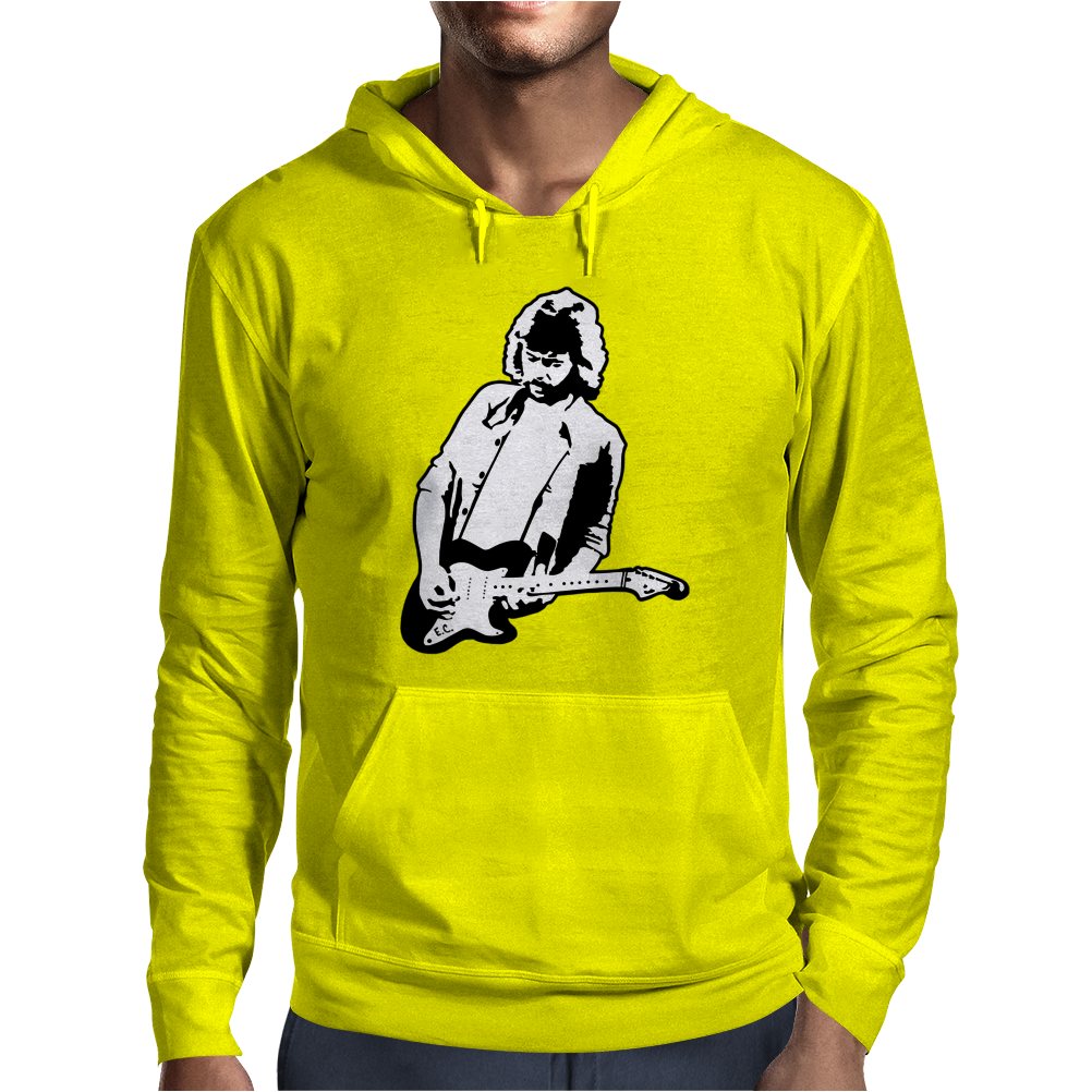 Eric Clapton Mens Hoodie