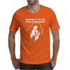 eriousness Refuge Of The Shallow Mens T-Shirt
