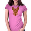 Errorface Tribal  Rat Womens Fitted T-Shirt