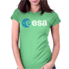 Esa European Space Agency Womens Fitted T-Shirt