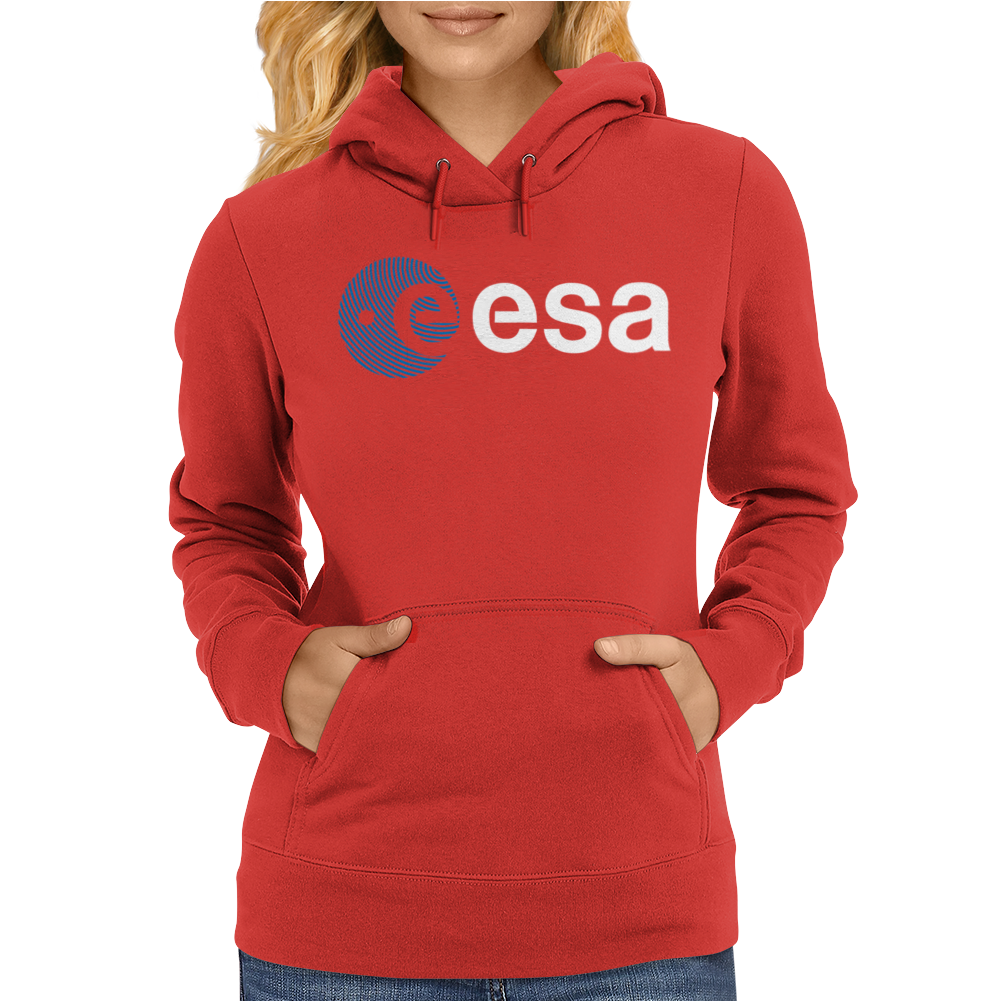 Esa European Space Agency Womens Hoodie