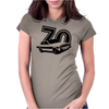 ESCORT 70' Classic Ford Escort RS2000 Womens Fitted T-Shirt