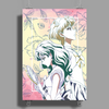 Eternal Eternity Watercolor Poster Print (Portrait)