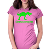 Ethanasaurus Rex Womens Fitted T-Shirt