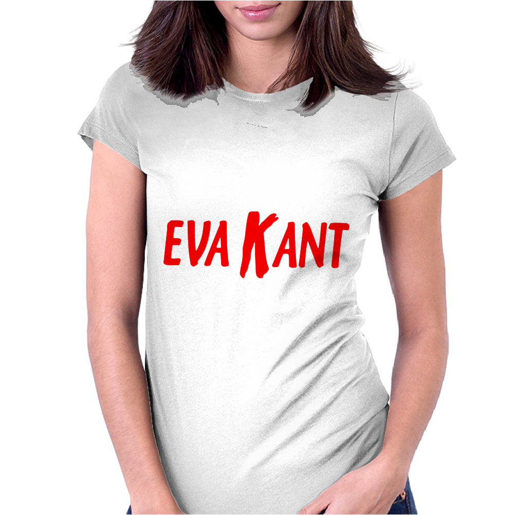 Eva Kant Diabolik Womens Fitted T-Shirt