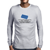 Even your sainted old Granny says ,,Cocksucker! when she steps on a Lego block by accident Mens Long Sleeve T-Shirt