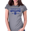 Everton Football Fan Womens Fitted T-Shirt