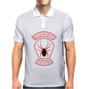 Every Which Way But Loose Black Widows Mens Polo