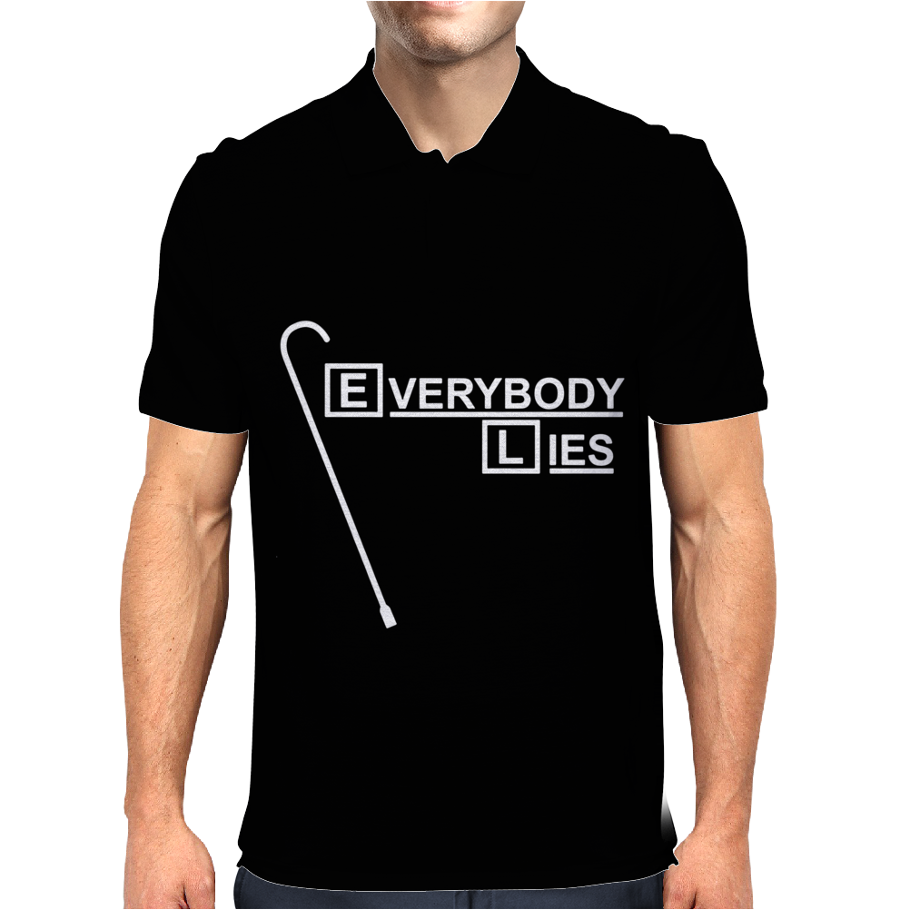 Everybody Lies Mens Polo