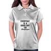 EVERYDAY IS A GOOD DAY FOR CHAMPAGNE Womens Polo