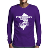 Everything's Dirtier In Jersey Mens Long Sleeve T-Shirt
