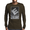 Evil Corp Mens Long Sleeve T-Shirt