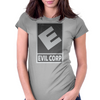 Evil Corp Womens Fitted T-Shirt