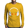 Evil Eye Headphone Mens Long Sleeve T-Shirt