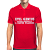EVIL GENIUS CLEVERLY DISGUISED Mens Polo
