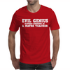 EVIL GENIUS CLEVERLY DISGUISED Mens T-Shirt