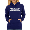 EVIL GENIUS CLEVERLY DISGUISED Womens Hoodie