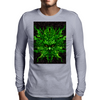 evil greenman Mens Long Sleeve T-Shirt