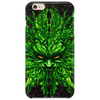 evil greenman Phone Case