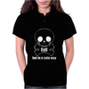 Evil In A Cute Way Skull And X Bones Womens Polo