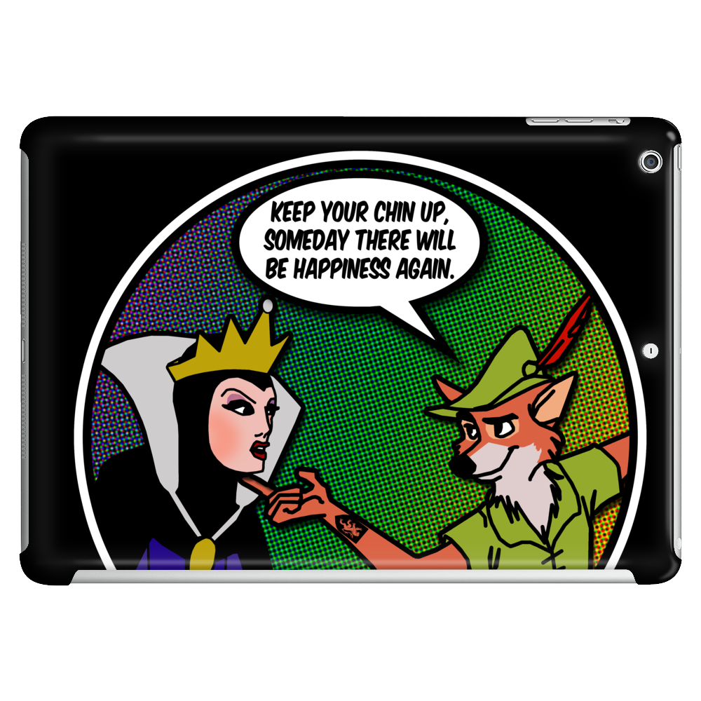 Evil Queen, Robin Hood and the pursuit of Happiness Tablet (horizontal)