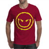Evil Smiley Face Mens T-Shirt