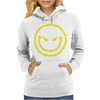 Evil Smiley Face Womens Hoodie