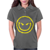 Evil Smiley Face Womens Polo